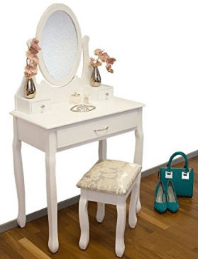 buy online ad9f8 1a689 Childrens dressing tables with a mirror and stool