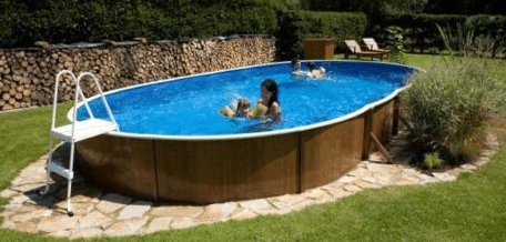 24 foot above or below ground swimming pool
