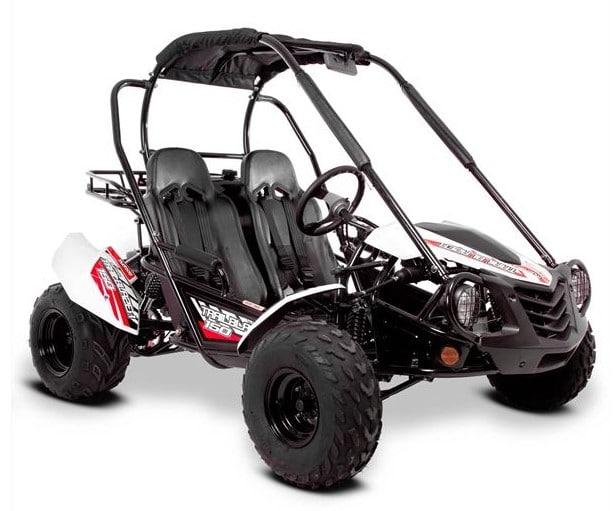 MudRocks Trail Blazer 150cc White