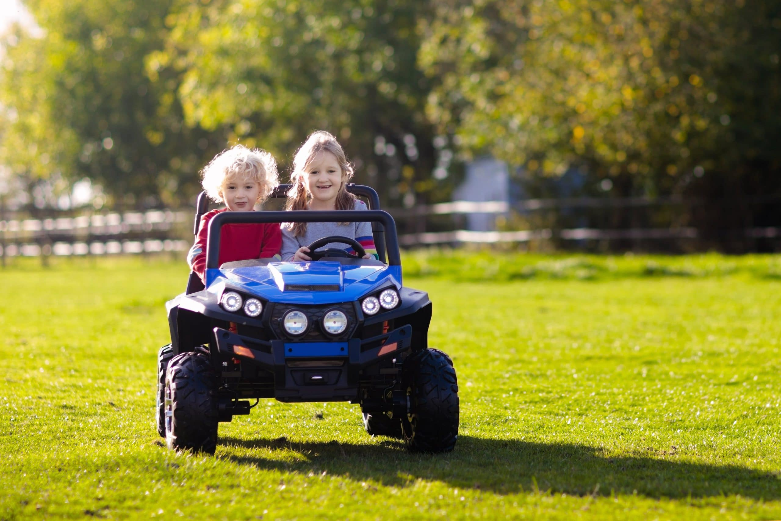 Top 5: Best 2-Seater Electric Ride-On Cars for Kids - ChildrensToyBox