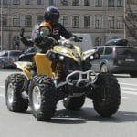 The New All-terrain Vehicle: Road Legal Quad Bike