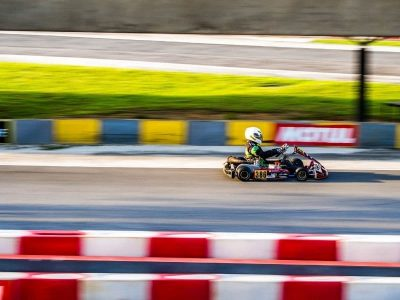 Kids Petrol Go Kart